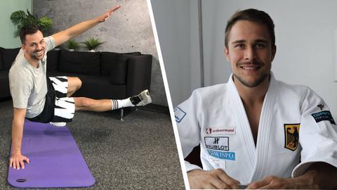 Fit mit Nick Tag 12 mit Judo-Weltmeister Alexander Wieczerzak