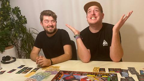 """Jonny und Nico testen """"Monopoly für schlechte Verlierer"""""""