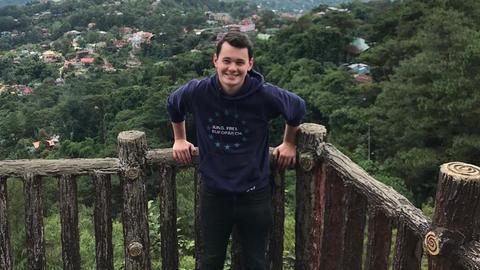 Max auf den Philippinen